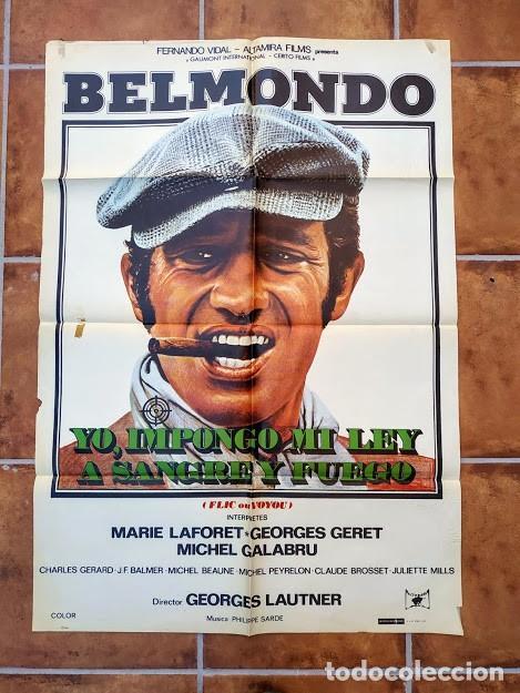 Cine: AAU80 JEAN PAUL BELMONDO COLECCION 17 POSTERS ORIGINALES ESPAÑOLES 70X100 - Foto 11 - 248103395