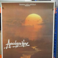 Cinema: CARTEL ORIGINAL DE EPOCA - APOCALYPSE NOW - MARLON BRANDO - COPPOLA - 100 X 70. Lote 248251230