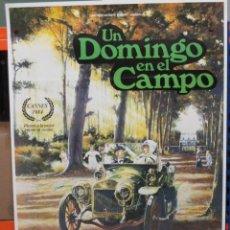 Cine: CARTEL ORIGINAL DE EPOCA - UN DOMINGO EN EL CAMPO - 100 X 70. Lote 248251630
