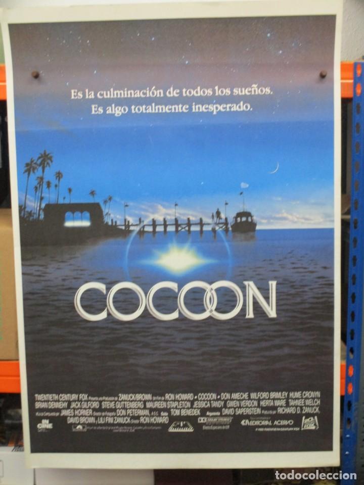 CARTEL ORIGINAL DE EPOCA - COCOON - RON HOWARD - 100 X 70 (Cine - Posters y Carteles - Comedia)