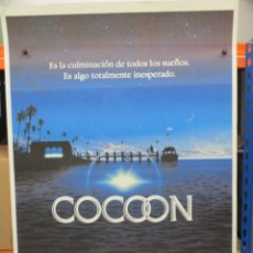 Cine: CARTEL ORIGINAL DE EPOCA - COCOON - RON HOWARD - 100 X 70. Lote 248258890