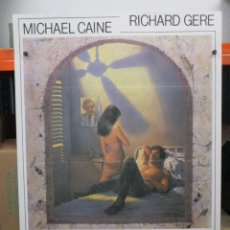 Cine: CARTEL ORIGINAL DE EPOCA - CONUSL HONORARIO - MICHAEL CAINE - RICHARD GERE - 100 X 70. Lote 248259405