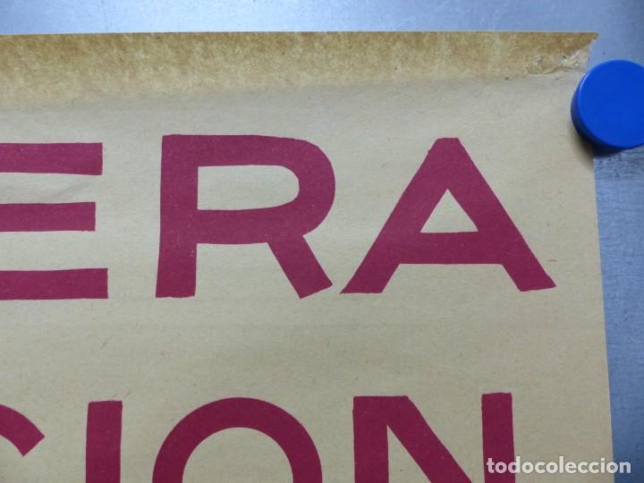 Cine: TARDE DE TOROS, CARTEL GRANDE DE 4 PIEZAS - AÑO 1956 - 348x64 cm. - Foto 12 - 248262675