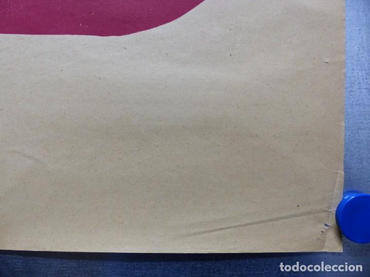 Cine: TARDE DE TOROS, CARTEL GRANDE DE 4 PIEZAS - AÑO 1956 - 348x64 cm. - Foto 13 - 248262675