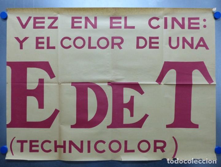Cine: TARDE DE TOROS, CARTEL GRANDE DE 4 PIEZAS - AÑO 1956 - 348x64 cm. - Foto 15 - 248262675