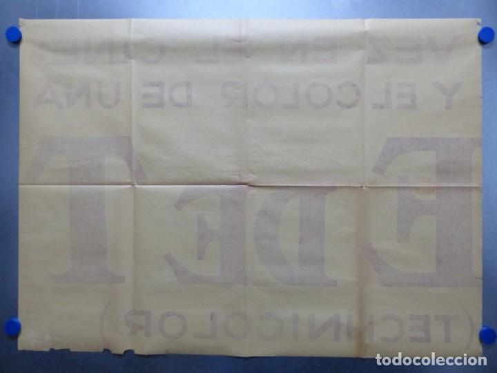 Cine: TARDE DE TOROS, CARTEL GRANDE DE 4 PIEZAS - AÑO 1956 - 348x64 cm. - Foto 20 - 248262675