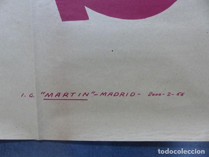 Cine: TARDE DE TOROS, CARTEL GRANDE DE 4 PIEZAS - AÑO 1956 - 348x64 cm. - Foto 23 - 248262675