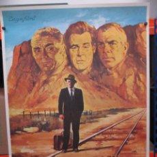 Cine: CARTEL ORIGINAL DE EPOCA - CONSPIRACION EN SILENCIO - 1981 - 100 X 70. Lote 248266935