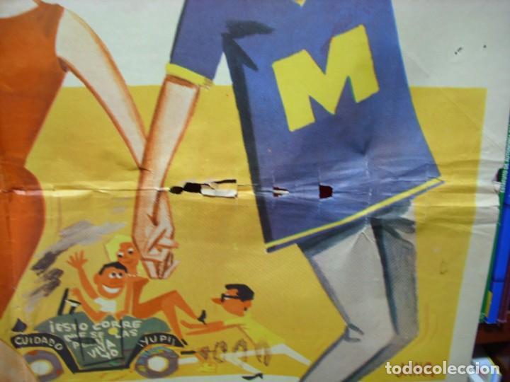 Cine: UNA CHICA PARA DOS 1966 ORIGINAL DUO DINAMICO- IMPORTANTE LEER DESCRIPCION VER FOTOS - Foto 3 - 248269165