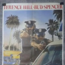 Cine: CARTEL ORIGINAL 2 SUPERPOLICIAS EN MIAMI BUD SPENCER. Lote 248422400