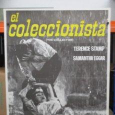 Cinema: CARTEL ORIGINAL - EL COLECCIONISTA - WILLIAM WYLER - TERENCE STAMP - 100 X 70. Lote 248430680