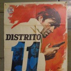 Cinema: CDO 9363 DISTRITO 11 DIANA DORS ALFRED LYNCH POSTER ORIGINAL 70X100 ESTRENO. Lote 248468100
