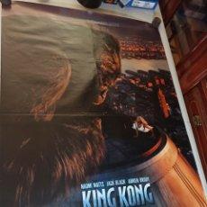 Cine: POSTER ESTRENO PELÍCULA KING KONG 2005 70X100. Lote 248468310