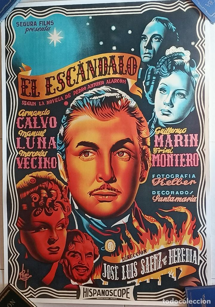 EL ESCANDALO CARTEL DE CINE ENTELADO (Cine- Posters y Carteles - Drama)