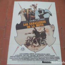 Cinema: CARTEL POSTER DE CINE 70X100 MOVIE POSTER VER FOTO LOS CABALLEROS DE LA MOTO. Lote 249450760