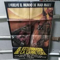 Cine: EL EXTERMINADOR DE LA CARRETERA PSEUDO MAD MAX POSTER ORIGINAL 70X100 YY (2589). Lote 249487765