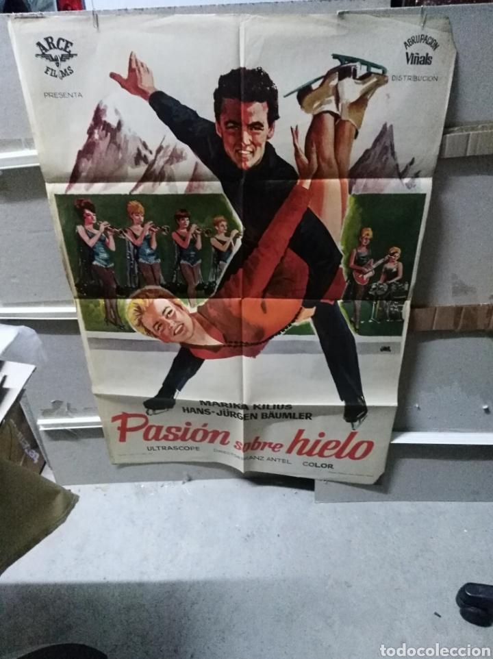 PASION SOBRE HIELO MARIKA KILIUS PATINAJE POSTER ORIGINAL 70X100 YY (2601) (Cine - Posters y Carteles - Deportes)