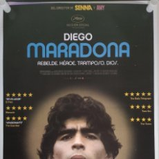 Cine: PÓSTER DE CINE DEL DOCUMENTAL DIEGO MARADONA. Lote 251312330