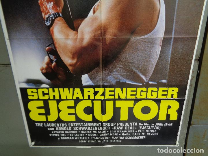 Cine: CDO 9662 EJECUTOR ARNOLD SCHWARZENEGGER POSTER ORIGiNAL 70X100 ESTRENO B - Foto 3 - 251826540