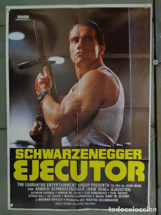 CDO 9662 EJECUTOR ARNOLD SCHWARZENEGGER POSTER ORIGINAL 70X100 ESTRENO B (Cine - Posters y Carteles - Acción)