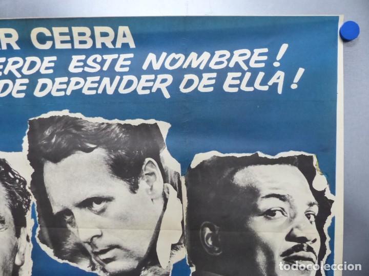 Cine: ESTACION POLAR CEBRA, ROCK HUDSON, ERNEST BORGNINE, JIM BROWN - AÑO 1969 - CARTEL GRANDE 210x100 cm. - Foto 4 - 252152910