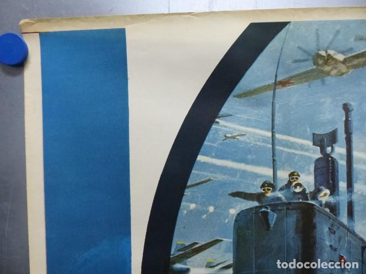 Cine: ESTACION POLAR CEBRA, ROCK HUDSON, ERNEST BORGNINE, JIM BROWN - AÑO 1969 - CARTEL GRANDE 210x100 cm. - Foto 9 - 252152910
