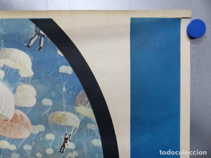 Cine: ESTACION POLAR CEBRA, ROCK HUDSON, ERNEST BORGNINE, JIM BROWN - AÑO 1969 - CARTEL GRANDE 210x100 cm. - Foto 11 - 252152910