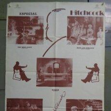 Cine: CDO 9827 ALFRED HITCHCOCK FESTIVAL ETAPA INGLESA POSTER ORIGINAL 70X100 ESTRENO. Lote 252175515
