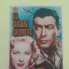 Cine: EL GRAN SECRETO ROBERT TAYLOR ORIGINAL S.P. ALGUN DEFECTO. Lote 252293700