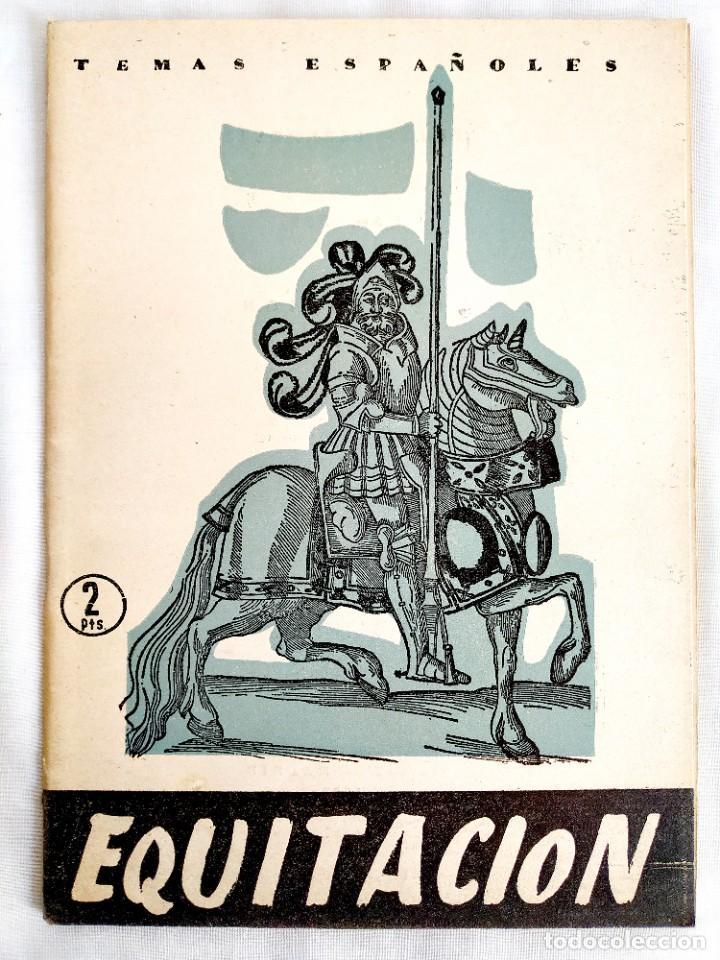 1958 - EQUITACIÓN - TEMAS ESPAÑOLES NÚM. 359 (Cine - Posters y Carteles - Deportes)