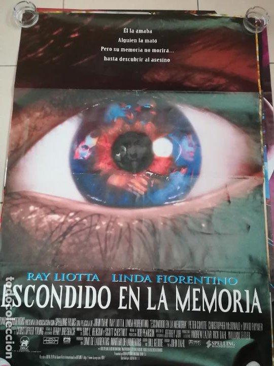 POSTER / CARTEL DE CINE ORIGINAL. ESCONDIDO EN LA MEMORIA. RAY LIOTTA. 70 X 100 CM (Cine - Posters y Carteles - Suspense)