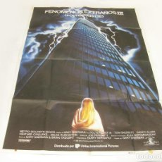 Cine: CARTEL DE LA PELÍCULA POLTERGEIST III. 1988.. Lote 252618280