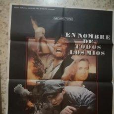 Cine: CARTEL POSTER DE CINE EN NOMBRE DE TODOS LOS MÍOS. Lote 252714640