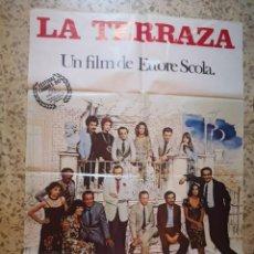 Cine: CARTEL POSTER DE CINE LA TERRAZA. Lote 252715145