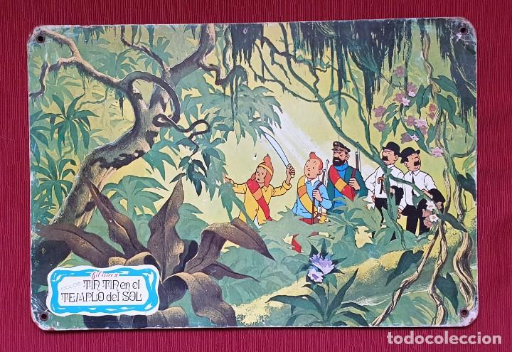 AMG-1025 FOTOGRAMA TINTIN EN EL TEMPLO DEL SOL FILMAX AÑOS 60 (Cine - Posters y Carteles - Infantil)