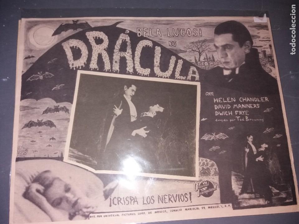 LOOBY CARD DE DRACULA (Cine - Posters y Carteles - Terror)
