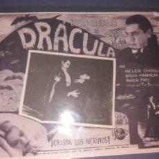Cine: LOOBY CARD DE DRACULA. Lote 252868415