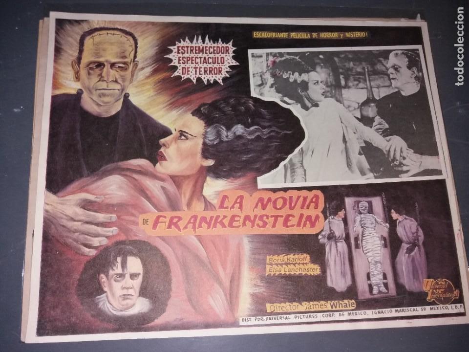 LOOBY CARD LA NOVIA DE FRANKENSTEIN ORIGINAL (Cine - Posters y Carteles - Terror)