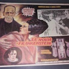 Cine: LOOBY CARD LA NOVIA DE FRANKENSTEIN ORIGINAL. Lote 252868595