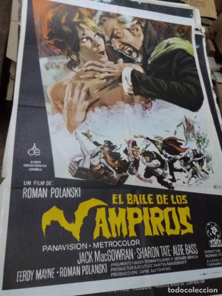 EL BAILE DE LOS VAMPIROS CARTEL ORIGINAL (Cine - Posters y Carteles - Terror)