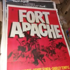 Cine: CARTEL ORIGINAL FORT APACHE. Lote 252953430