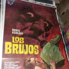 Cine: LOS BRUJOS ( BORIS KARLOFF) CARTEL ORIGINAL. Lote 253066230