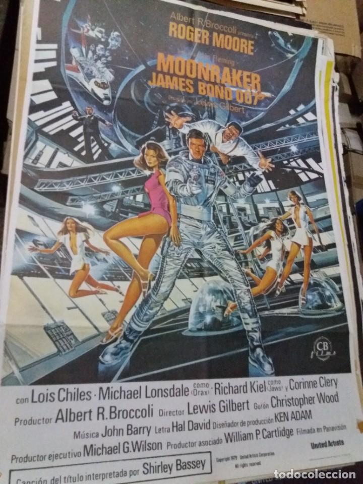 MOONRAKER (JAMES BOND ) ROGER MOORE (Cine - Posters y Carteles - Acción)