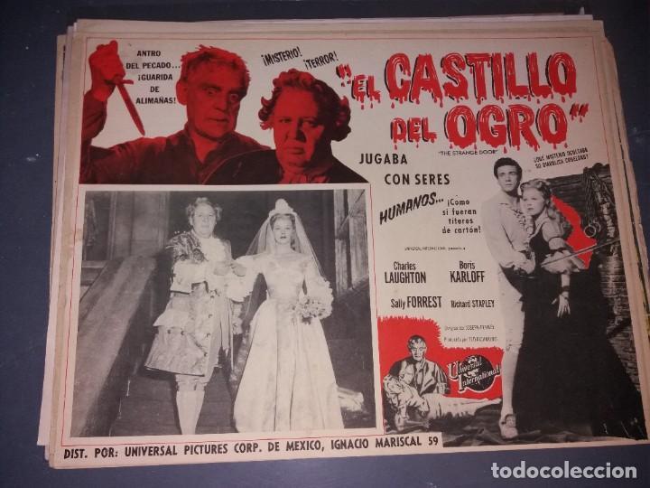 LOOBY CARD EL CASTILLO DEL OGRO (Cine - Posters y Carteles - Terror)