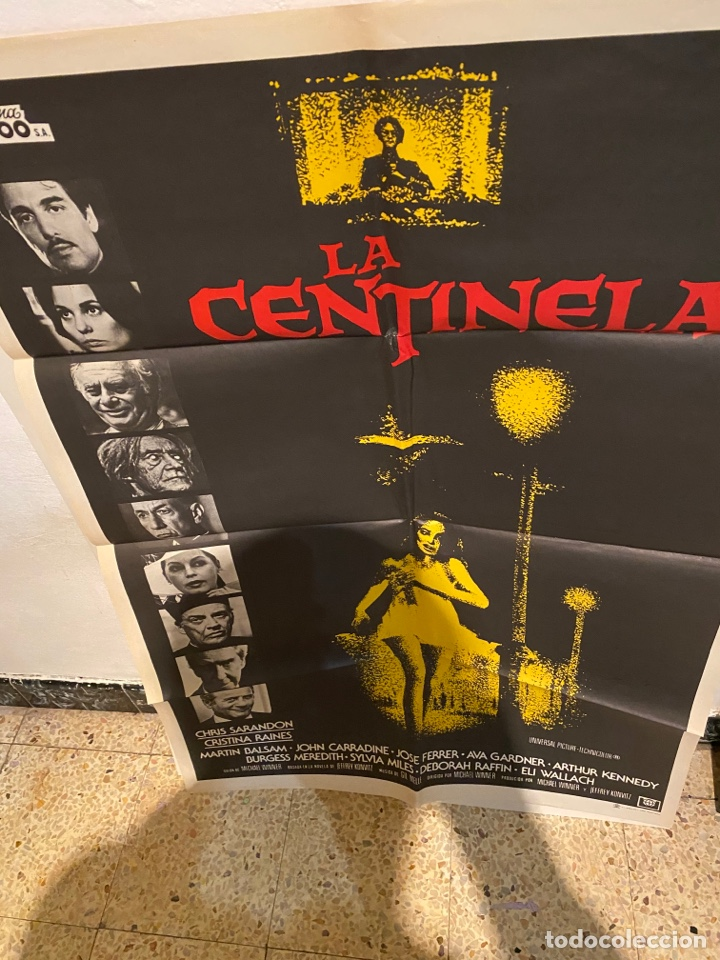 CARTEL. LA CENTINELA (Cine - Posters y Carteles - Terror)