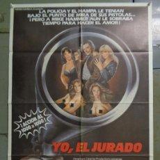 Cine: CDO 9930 YO EL JURADO ARMAND ASSANTE BARBARA CARRERA POSTER ORIGINAL 70X100 ESTRENO. Lote 253544690