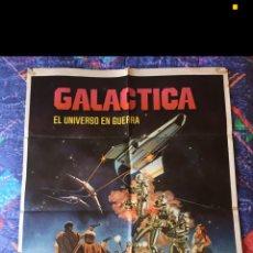 Cine: CARTELERA DE CINE DE LA SERIE GALÁCTICA. Lote 253605320
