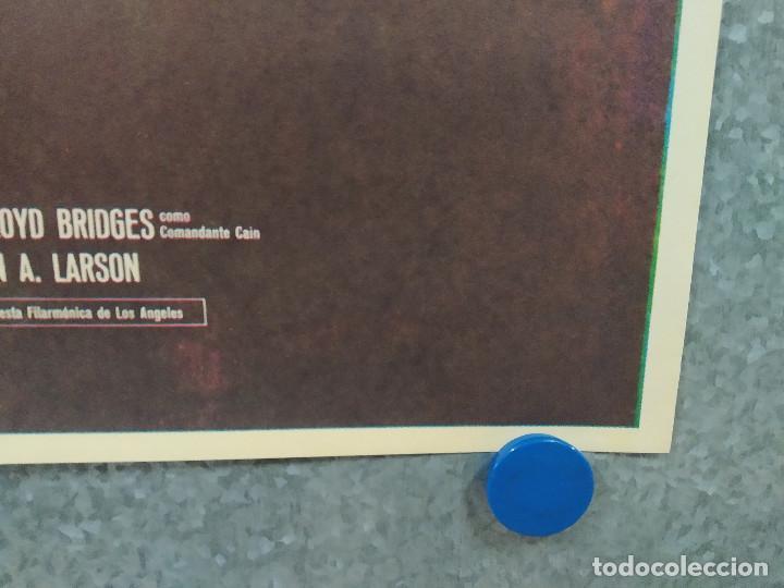 Cine: Misión Galáctica: Cylon ataca. Richard Hatch, Dirk Benedict, Lorne Greene AÑO 1979. POSTER ORIGINAL - Foto 4 - 253667225