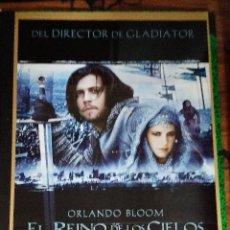 Cine: EL REINO DE LOS CIELOS - 2005 - RIDLEY SCOTT - ORLANDO BLOOM - EVA GREEN - ORIGINAL ESTRENO. Lote 253809950
