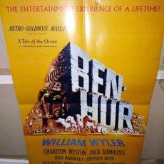 Cine: BEN-HUR POSTER EN INGLES A DOBLE CARA 57X41 CM Q. Lote 253841610